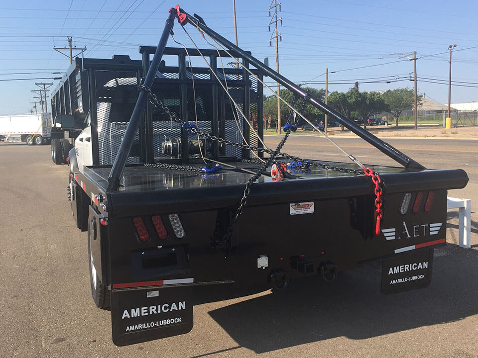 Roustabout In Midland And Kenedy Tx: American Equipment And Trailer